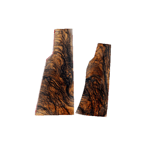 LOGO_Pair of walnut gunstock blanks
