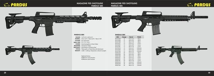 LOGO_Semi Automatic Magazine Fed Shotgun
