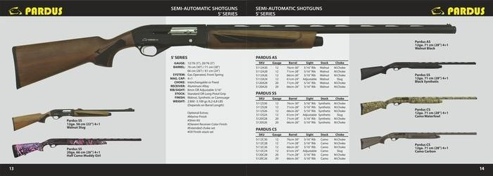 LOGO_Semi Automatic Shotgun