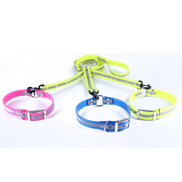 LOGO_reflective dog collar and leash