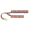 LOGO_VBpower 8.4V Small Type 1200mAh Airsoft Battery Pack (Butterfly Configuration)