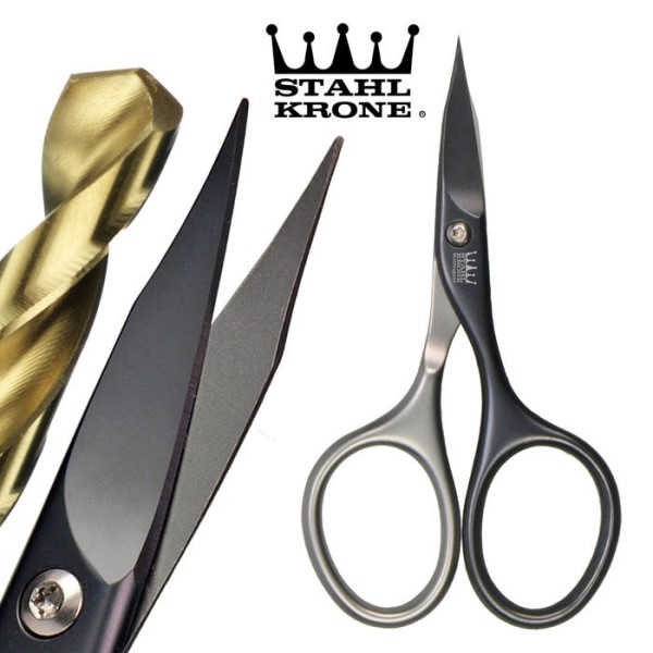 LOGO_StahlKrone Self Sharpening Manicure Scissors