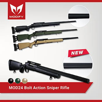 LOGO_Bolt Action Sniper Rifle- MOD24 (Bull Barrel Type)