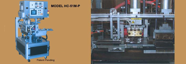 LOGO_Hot and cold automatic strip cutter with line marking and hole punching capacity HC-51M-P