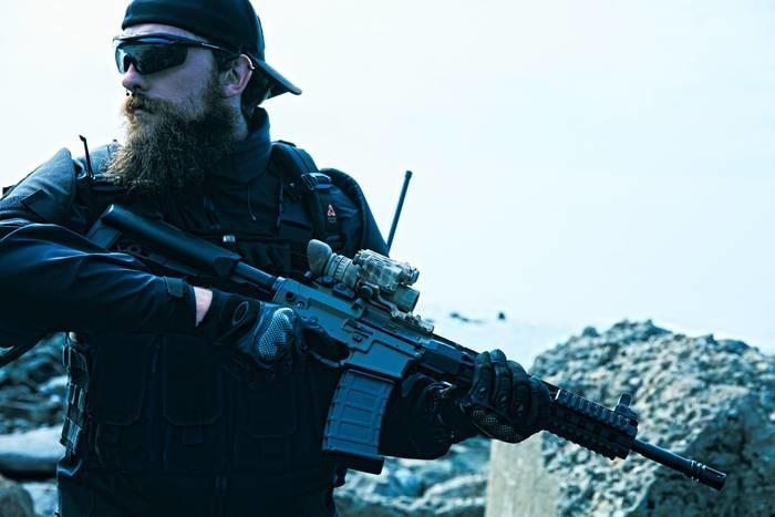 LOGO_The New Advance Rocon Carbine High Performanc AEG