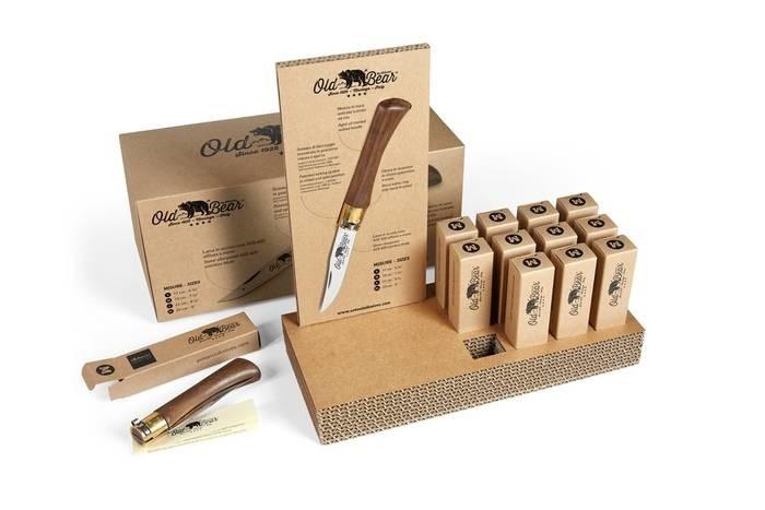 LOGO_OLD BEAR knife lines