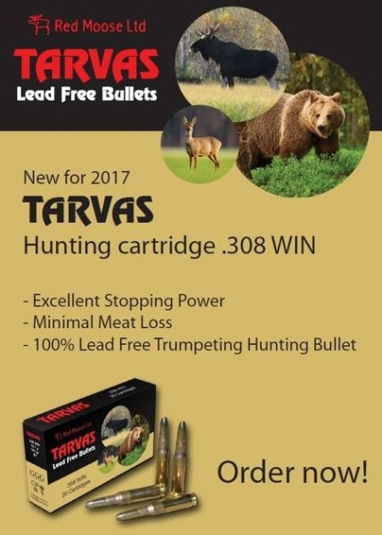LOGO_TARVAS lead free hunting cartridge