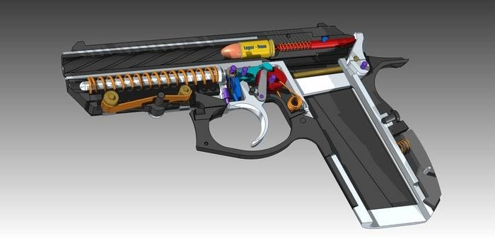 LOGO_Selbstladepistole Modell VIG 007 speedfire