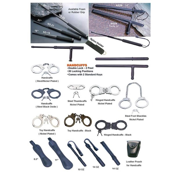 LOGO_Batons , Handcuffs , Foot Shackles