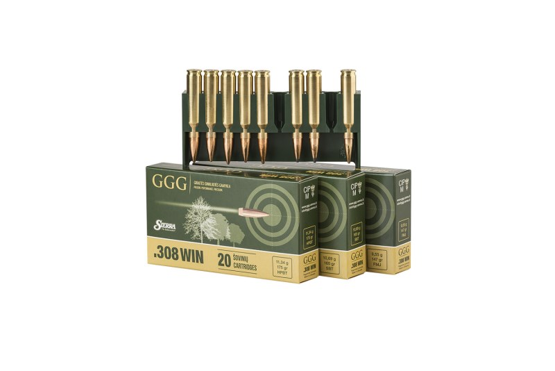LOGO_Rifle ammunition cal. .308 WIN