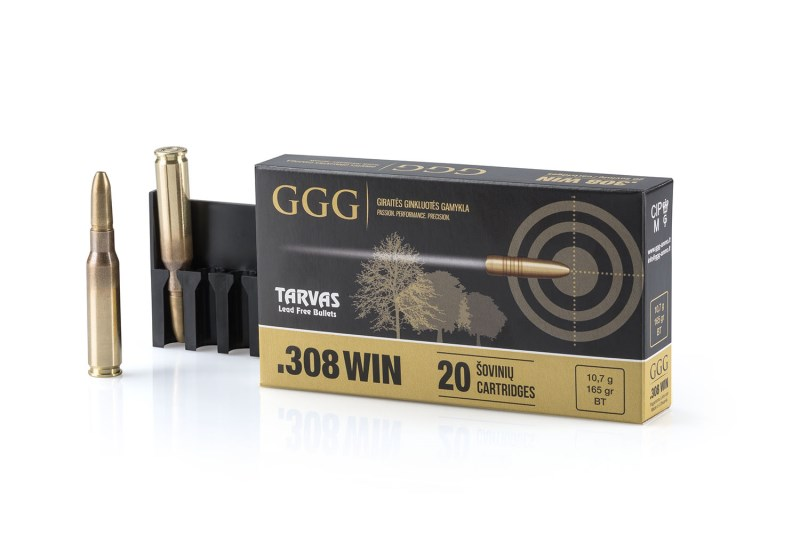 LOGO_Rifle ammunition .308 WIN Tarvas Lead Free Bullets
