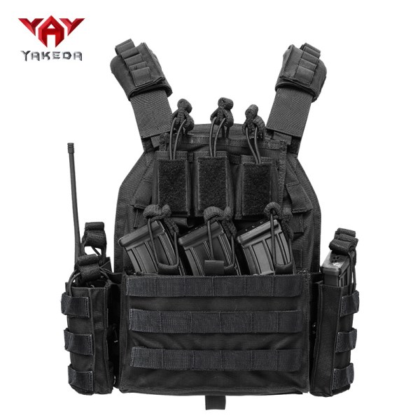 LOGO_Hunting Molle Style Tactical Carrier Vest Modular Chest Rig