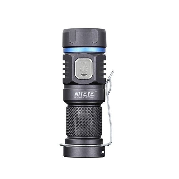 LOGO_NITEYE E20R rechargeable EDC light with 990 Lumens by 1 X CR123 battery