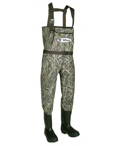 LOGO_Mens Fly Fishing Waterproof Neoprene Camo Chest Wader