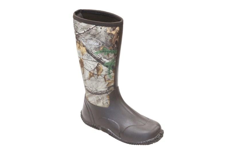 LOGO_Men's  Camo Neoprene Hunting Boots