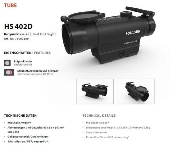 LOGO_Holosun Rotpunktvisier HS402D (2MOA DOT)