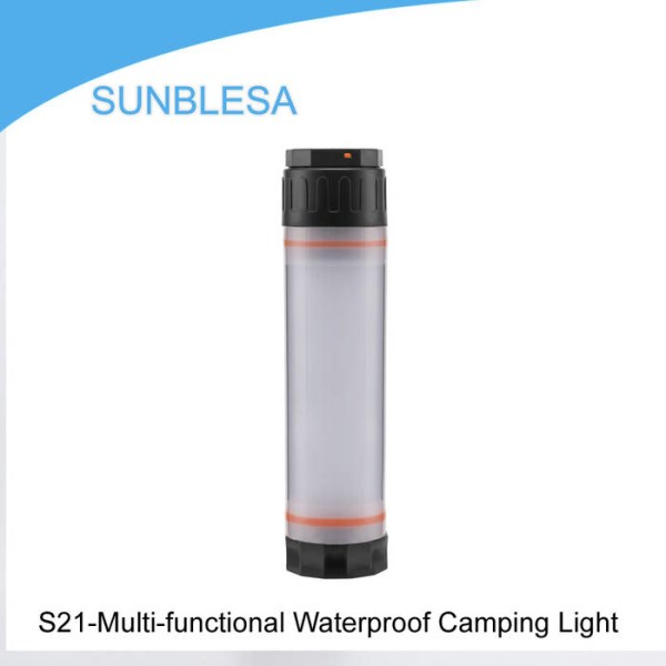 LOGO_S21-Multi-functional Waterproof Camping Light