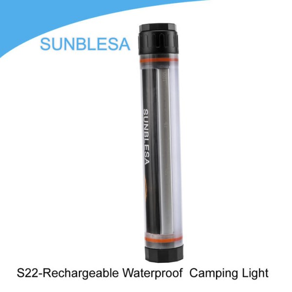 LOGO_S22-Rechargeable Waterproof  Camping Light