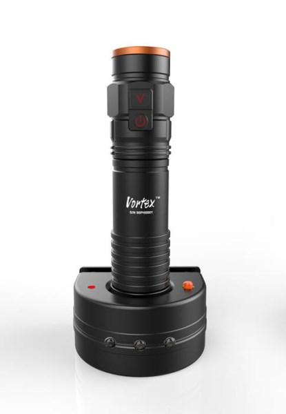 LOGO_TX200 Notfall wiederaufladbare Aluminium LED Taschenlampe