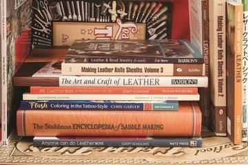 LOGO_LEATHER CRAFT MANUALS, PATTERNS