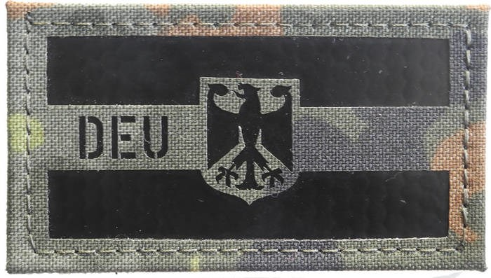 LOGO_Deutschland Flagge IRR Patch