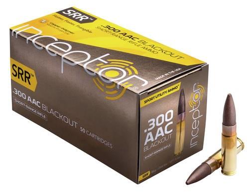 LOGO_Inceptor® .300 AAC BLK 88 gr SRR™ (Short-Range Rifle) Sport Utility Ammo™