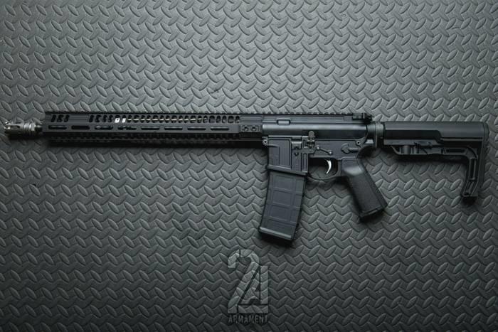 LOGO_2A Armament BLR-16 and XLR-18 Rifles