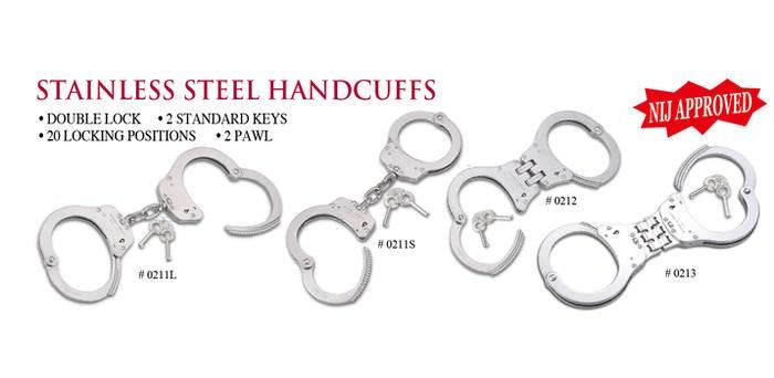 LOGO_NIJ Approved Handcuffs