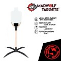 LOGO_Steel Target IPSC Torso 66%. Tactical Training, Defensive, Police , Military Training