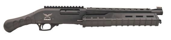 LOGO_Armed Reggie Pump Action Tactical Shotgun