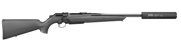 LOGO_Straight pull bolt action rifle RX HELIX Model Suppressor