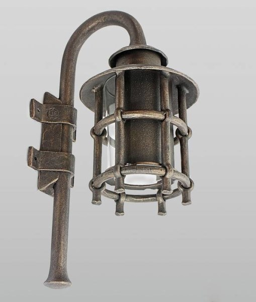 LOGO_A wrought iron wall light Classic M