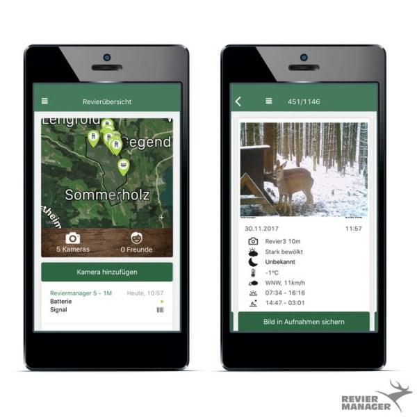 LOGO_Reviermanager App für Wildkamera