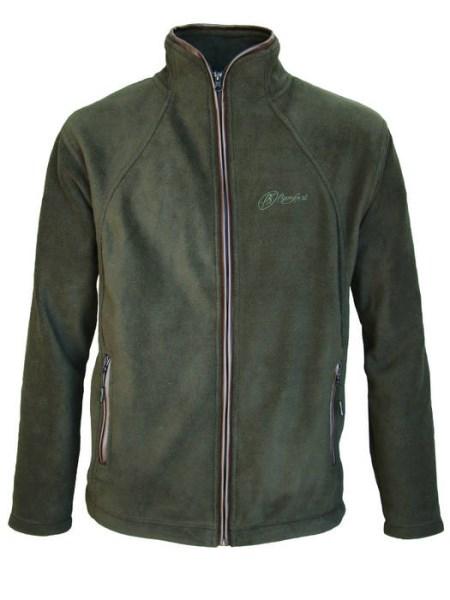 LOGO_POLAR JACKET , 100% polyester, 350 gr, PVC leather trim
