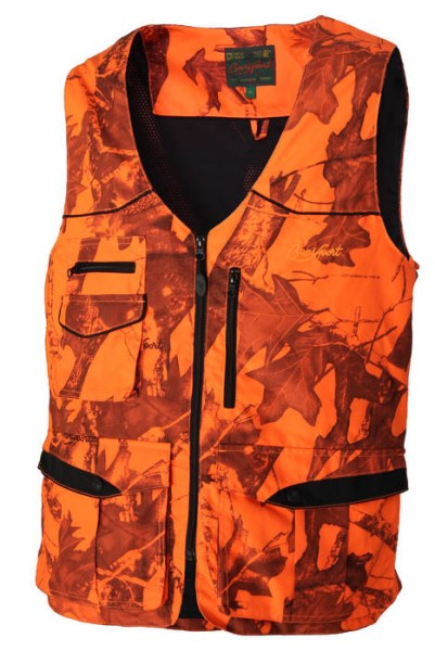 LOGO_IMPERMEABLE VEST 3 LAYERS:Three laminated fabric, water resitant, high visibility