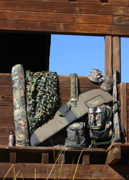 LOGO_ACCESSORY: backpacks, backpack with cover, backpack with chairs, walled camouflage screen, cartridge belts, covers.