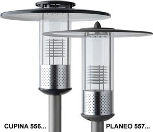 LOGO_LED-Pilzleuchten CUPINA und PLANEO