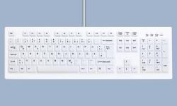 LOGO_Desinfizierbare PC Tastatur für Reinigung und Hygiene