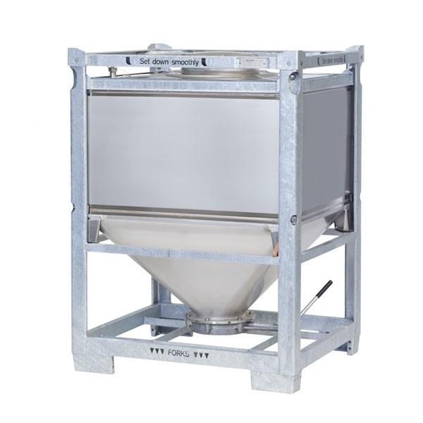 LOGO_IBC für Schüttgüter - Schüttgutcontainer mit Traggestell - Typ BP