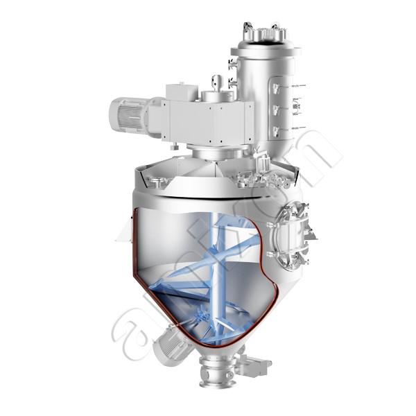 LOGO_Conical mixer dryer reactor