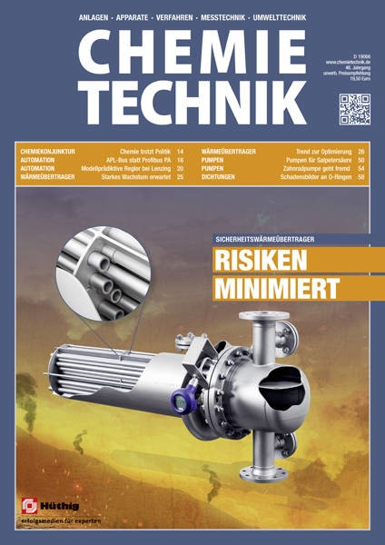 LOGO_Magazine for decision-makers: CHEMIE TECHNIK