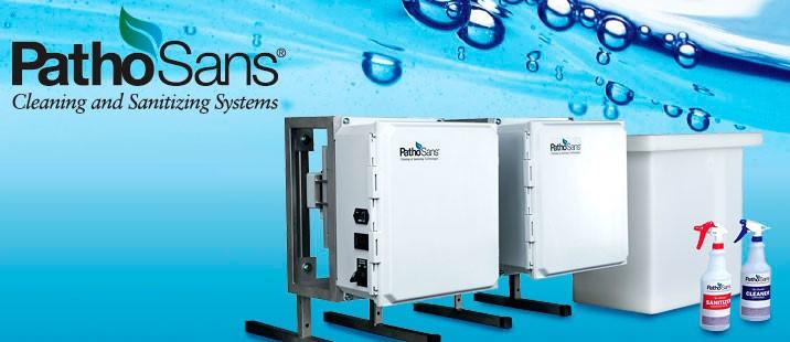 LOGO_Reiniger und Desinfektionsmittel nach Bedarf herstellen mit PathoSans® Systemlösungen: Höchst effizient, sicher und umweltfreundlich