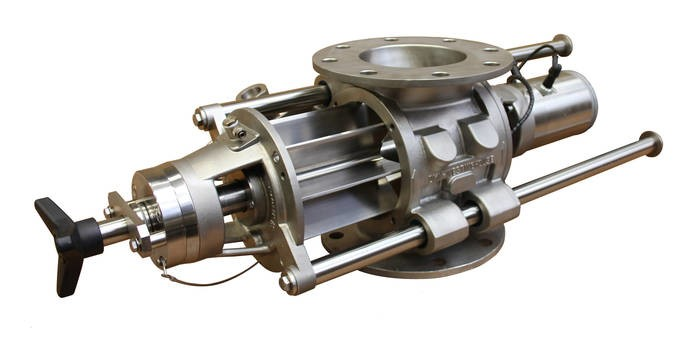 LOGO_AL-AXL MZC rotary valve with supporting bars
