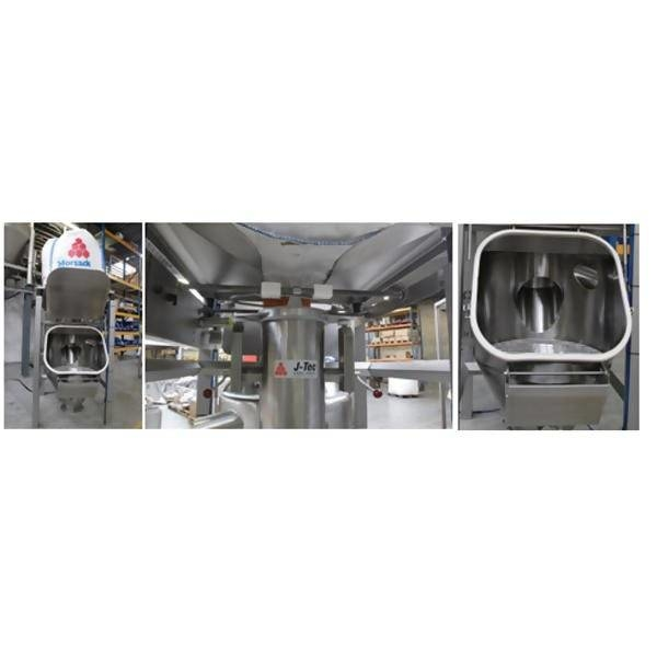 LOGO_Combined discharging station for bags and FIBCs – Hygienic design