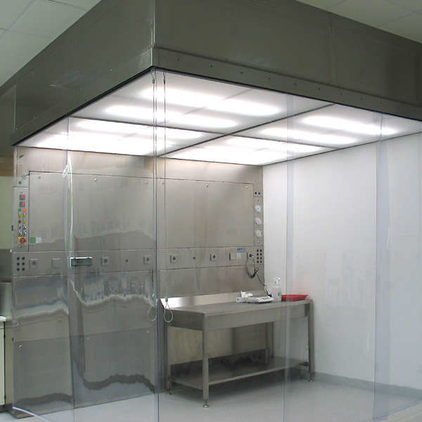 LOGO_Laminar flow weighing cabinet for protection of persons and product