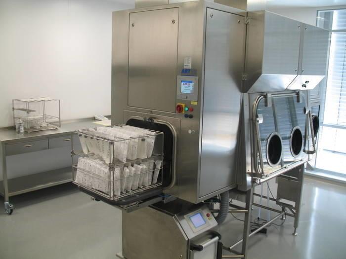 LOGO_Zytostatika Steril-Isolator mit H2O2-Gasgenerator