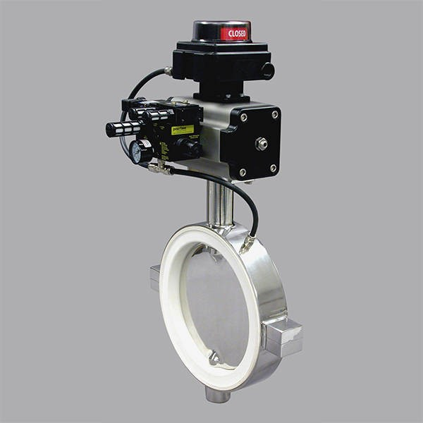 LOGO_Posi-flate Stainless Steel Butterfly Valve