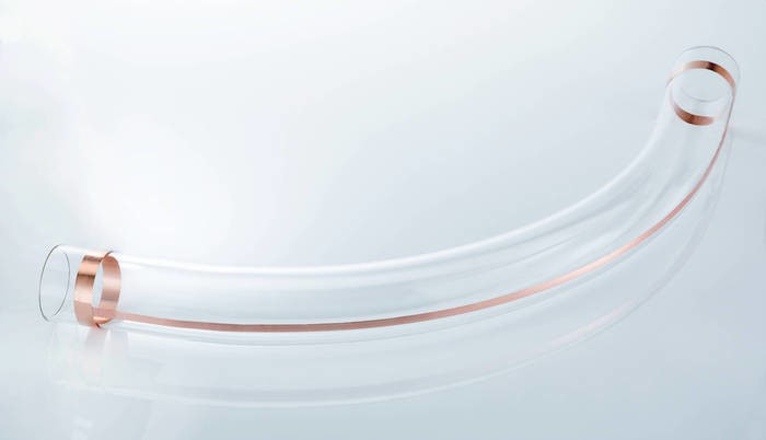 LOGO_DURAN® glass bends curved big tube