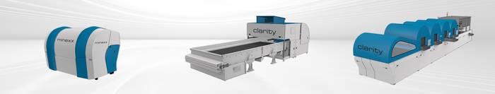 LOGO_MINEXX und CLARITY Sortiermaschinen