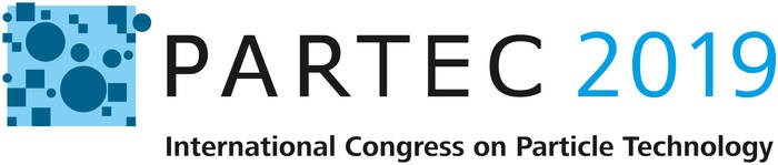 LOGO_PARTEC, International Congress on Particle Technology [PARTEC 2019: 9 – 11 April 2019, Nuremberg, Germany]